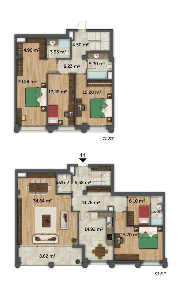 5+1 Duplex